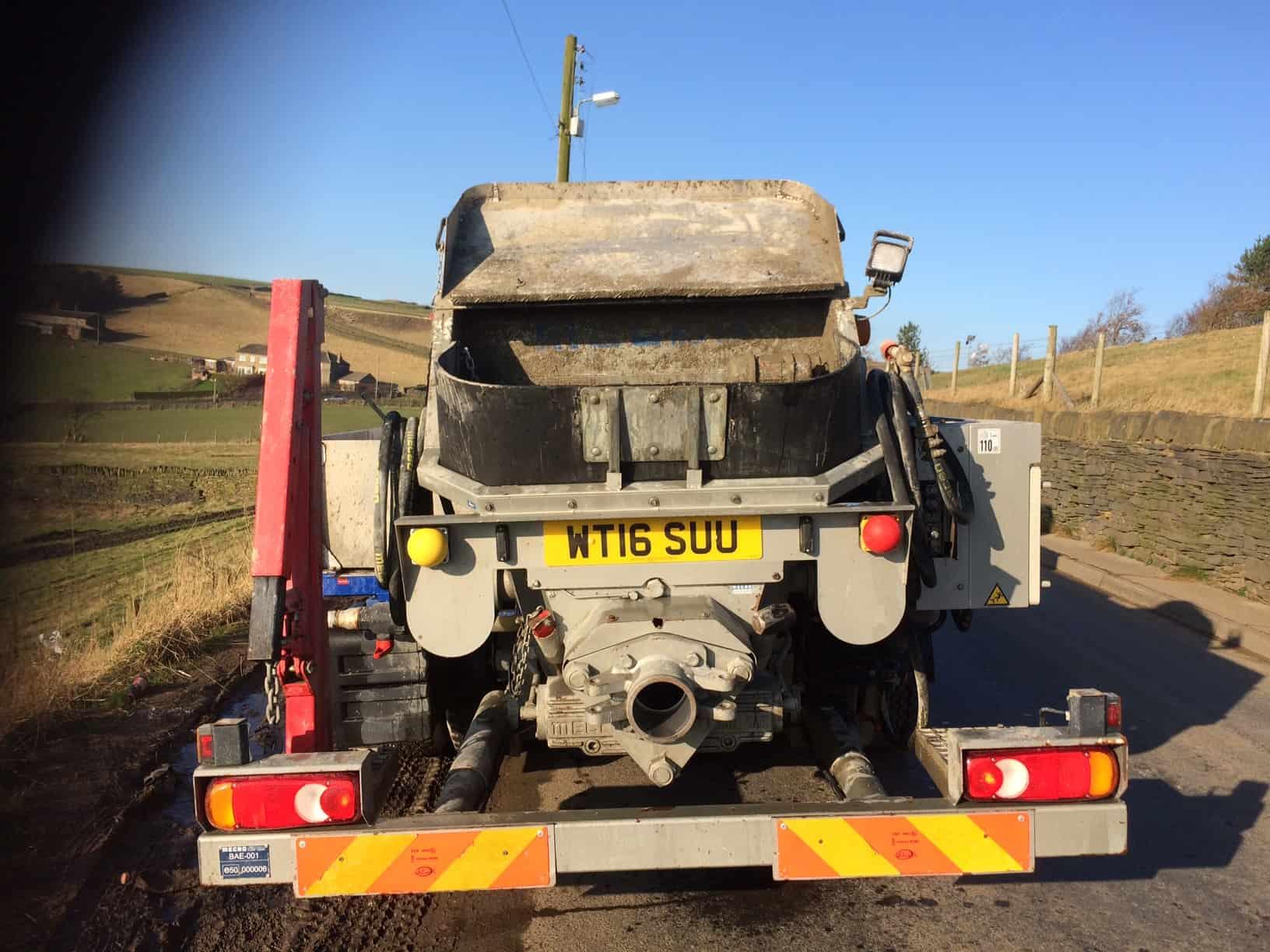 Concrete Mini Pumping Huddersfield