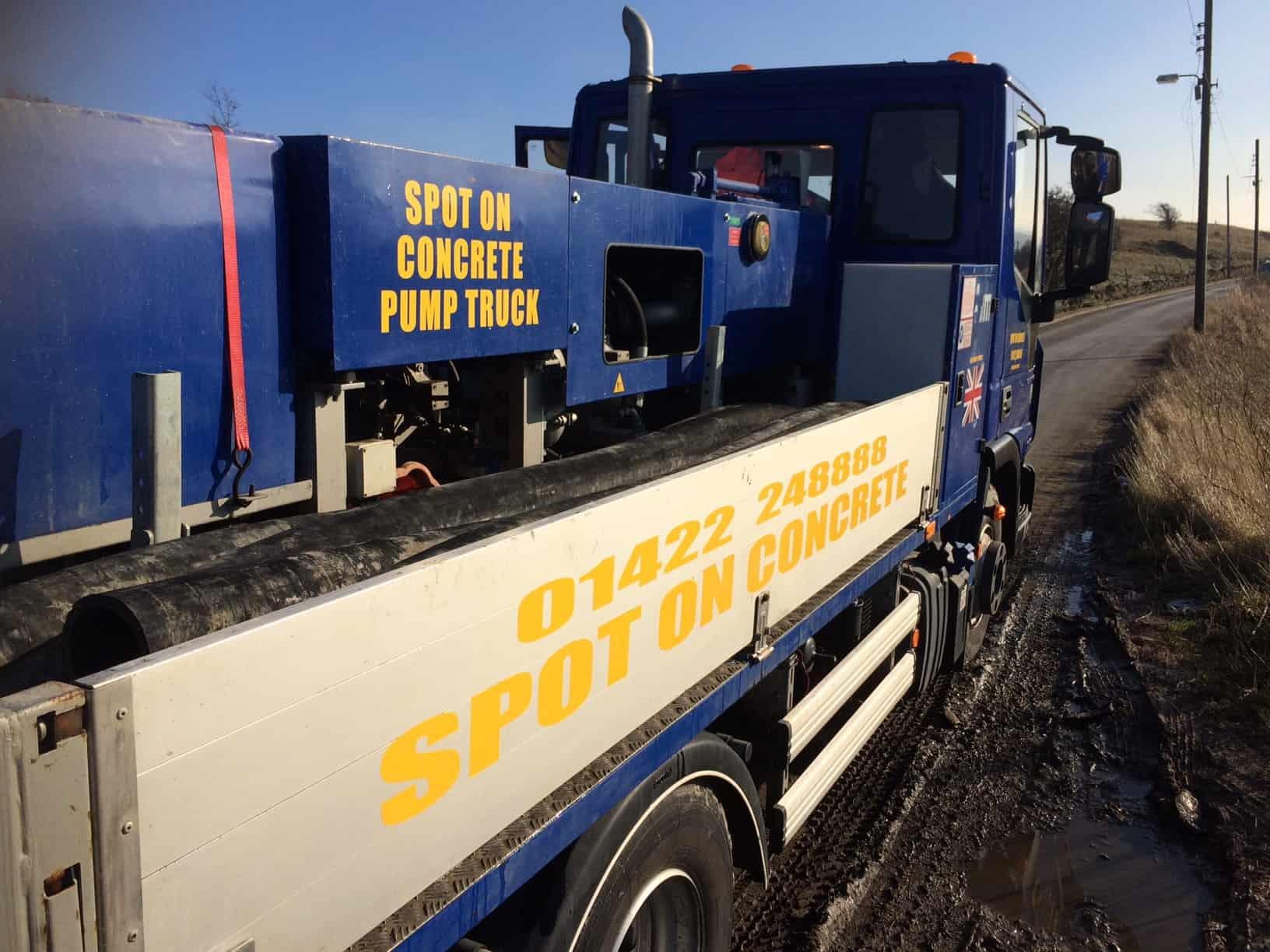 Concrete Pumping Service Huddersfield