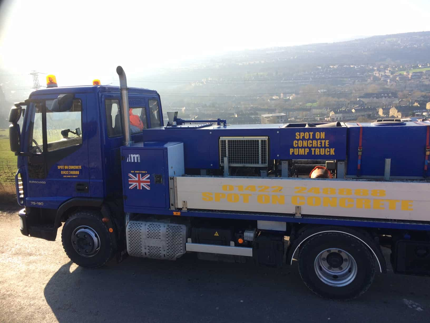 Concrete Pumping West Yorkshire | Spot on Concrete : Spot On Concrete