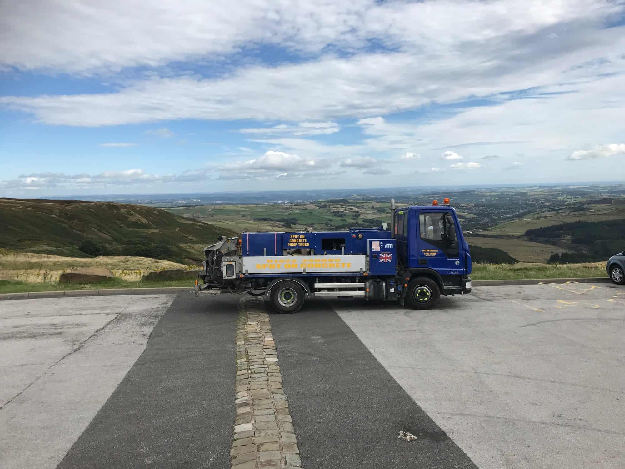 Bradford Concrete Pump Hire