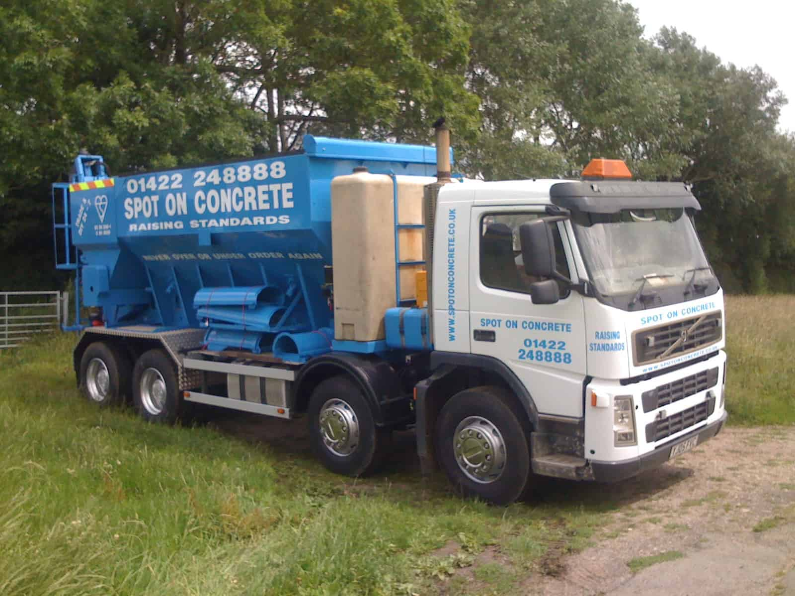 Ready mix concrete 034
