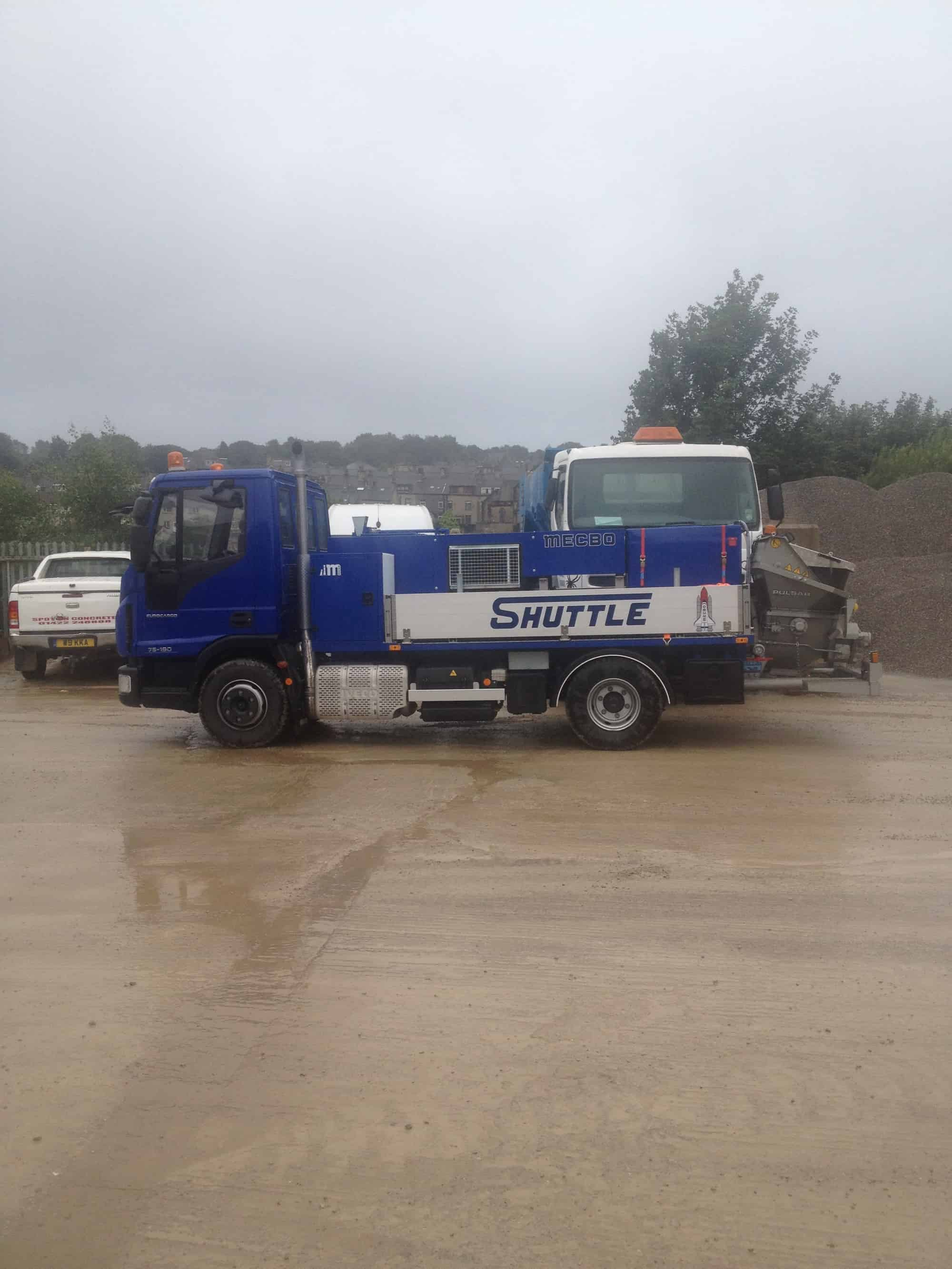 Concret Pumping vehicle