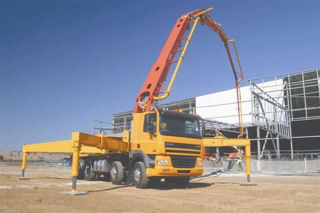 concrete pump truck 2 - Spot On Concrete : Spot On Concrete