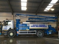 Concrete Boom Pump Hire Leeds